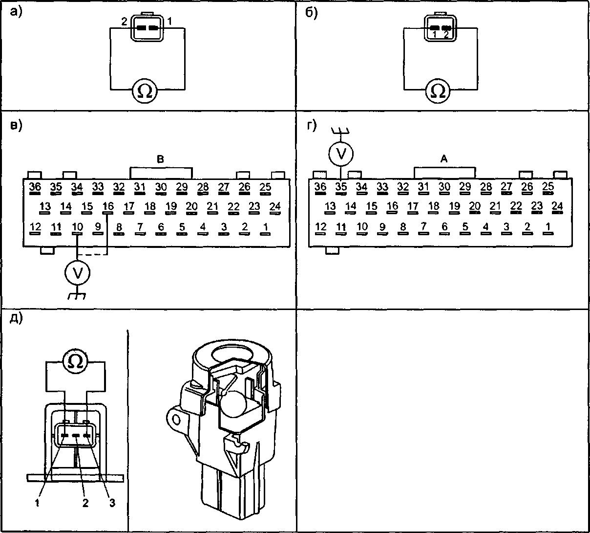 Датчики lucas system td5